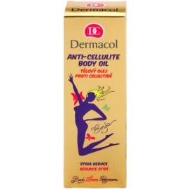 Dermacol Enja Body Love Program masážny telový olej proti celulitíde a striám  100 ml