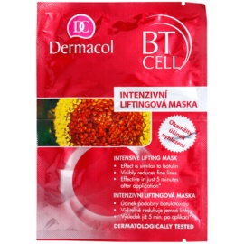 Dermacol BT Cell mascarilla intensiva con efecto lifting desechable  2x8 g