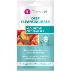 Dermacol Deep Cleasing Mask textilní 3D hloubkově čisticí maska  15 ml