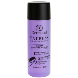 Dermacol Express Nail Polish Remover Without Acetone  120 ml