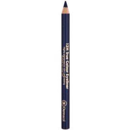 Dermacol 12H True Colour Eyeliner dermatograf persistent culoare 07 Grey 2 g