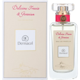 Dermacol Delicious Freesia & Geranium Eau de Parfum for Women 50 ml