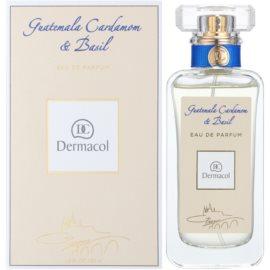Dermacol Guatemala Cardamom & Basil Eau de Parfum para homens 50 ml