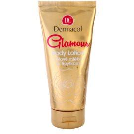 Dermacol Glamour Body telové mlieko s trblietkami  200 ml