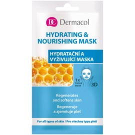 Dermacol Hydrating & Nourishing Mask 3D Moisturising and Nourishing Sheet Mask  15 ml