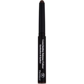 Dermacol Longlasting Intense Colour senčilo in črtalo za oči 2v1 odtenek 07 1,6 g