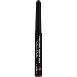 Dermacol Longlasting Intense Colour fard de ochi și creion de ochi 2 in 1 culoare 07 1,6 g