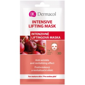 Dermacol Intensive Lifting Mask masque en tissu liftant 3D  15 ml