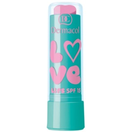 Dermacol Love Lips ajakbalzsam árnyalat Vanilla 3,5 ml