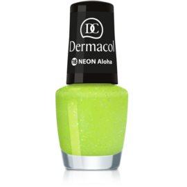 Dermacol Neon neonový lak na nehty odstín 18 Aloha 5 ml