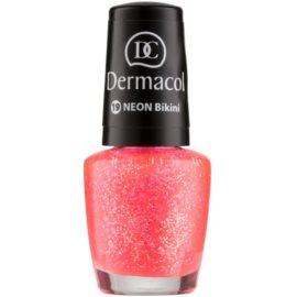 Dermacol Neon neonový lak na nehty odstín 19 Bikini 5 ml