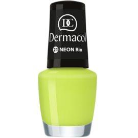 Dermacol Neon Neon Nagellak  Tint  21 Rio 5 ml
