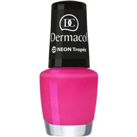 Dermacol Neon Neon Nagellak  Tint  22 Tropéz 5 ml