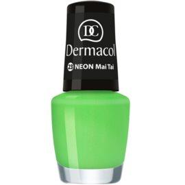 Dermacol Neon neonový lak na nehty odstín 23 Mai Tai 5 ml
