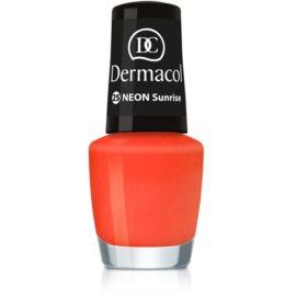 Dermacol Neon Neon Nagellak  Tint  25 Sunrise 5 ml