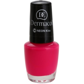 Dermacol Neon neonový lak na nehty odstín 14 Kiss 5 ml