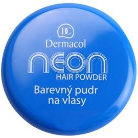 Dermacol Neon színező púder hajra Blue 2,2 g
