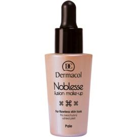 Dermacol Noblesse machiaj lichid, pentru un efect perfect culoare č.01 Pale 25 ml