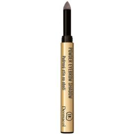 Dermacol Powder Eyebrow Shadow pudra pentru nuantare pentru sprancene culoare 2 1 g