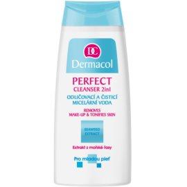 Dermacol Perfect мицеларна почистваща вода за млада кожа  200 мл.