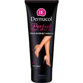 Dermacol Perfect maquillaje corporal embellecedor resistente al agua tono Pale 100 ml
