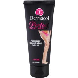 Dermacol Perfect vodoodporna lepotna podlaga za telo odtenek Caramel 100 ml