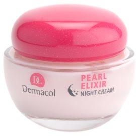 Dermacol Pearl Elixir creme de noite iluminador e de alisamento  50 ml