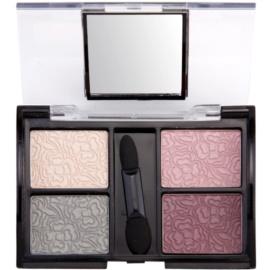 Dermacol Quattro Eye Shadows oční stíny  5 g