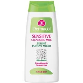 Dermacol Sensitive lapte de curatare pentru piele sensibila   200 ml