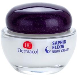 Dermacol Saphir Elixir ujędrniająco - przeciwzmarszczkowy krem na noc  50 ml