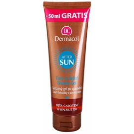 Dermacol After Sun After Sun Shower Gel With Beta Carotene Chocolate And Orange  250 ml