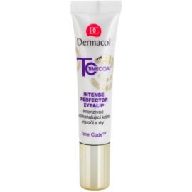 Dermacol Time Coat intenzívne zdokonaľujúci krém na oči a pery  15 ml