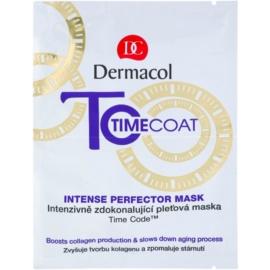 Dermacol Time Coat intenzivně zdokonalující pleťová maska  16 g