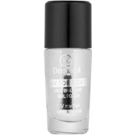 Dermacol UV Top Coat lac de unghii transparent  10 ml