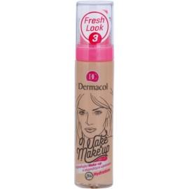 Dermacol Wake & Make-Up rozjasňující make-up s okamžitým účinkem odstín 3 (SPF 15) 30 ml