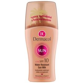 Dermacol Sun Water Resistant vodoodporno mleko za sončenje SPF 10  200 ml