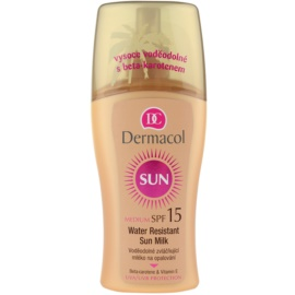 Dermacol Sun Water Resistant wodoodporne mleczko do opalania SPF 15  200 ml