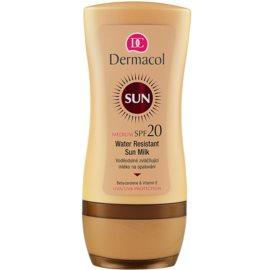 Dermacol Sun Water Resistant latte abbronzante waterproof SPF 20  200 ml
