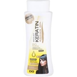 Dermagen Brazil Keratin Argan Oil Bio Shampoo für gefärbtes und geschädigtes Haar  255 ml