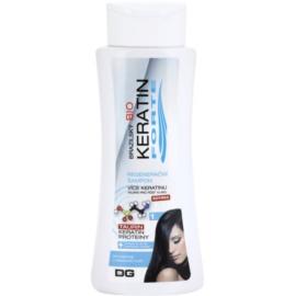 Dermagen Brazil Keratin Forte champô regenerador para cabelo pintado  255 ml