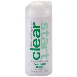 Dermalogica Clear Start Breakout Clearing tisztító hab a pattanásos bőr hibáira  177 ml