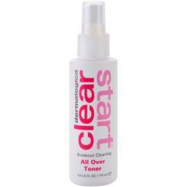 Dermalogica Clear Start Breakout Clearing reinigendes und erfrischendes Tonikum im Spray Für Gesicht und Körper  118 ml