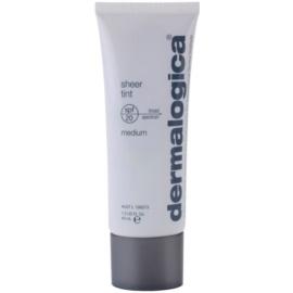 Dermalogica Sheer Tint Fluid nuantator cu textura usoara SPF 20 culoare Medium  40 ml