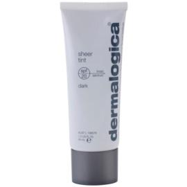 Dermalogica Sheer Tint fluido de tonificação leve SPF 20  tom Dark  40 ml