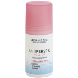 Dermedic Antipersp C дезодорант roll-on для уповільнення росту волосся 48 годин  60 гр