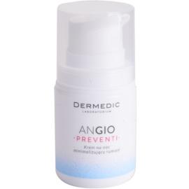 Dermedic Angio Preventi pleťový noční krém minimalizující zarudnutí pro citlivou a zarudlou pleť  55 g