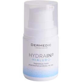 Dermedic Hydrain3 Hialuro Hydrating Night Cream with Anti-Wrinkle Effect  55 g