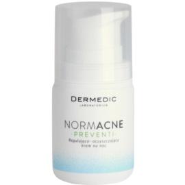Dermedic Normacne Preventi éjszakai szabályozó és tisztító arckrém  55 g