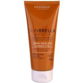 Dermedic Sunbrella Sensitive samoopalovací krém na tělo a obličej  100 ml