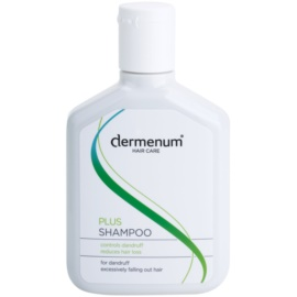 Dermenum Hair Care Plus champô reforçador anticaspa e antiqueda de cabelo  200 ml